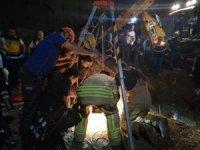 Eyüpsultan'da inşaat alanındaki kuyuya 9 yaşındaki çocuk düştü