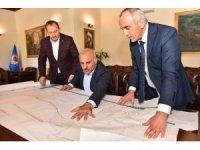 Başkan Zorluoğlu, doğal gaz altyapı çalışmaları hakkında bilgi aldı