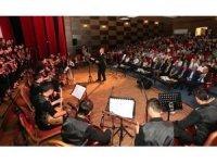 Amasyalı ve Samsunlu öğrencilerden 100. yıl konseri