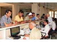 Akdeniz Belediyesi vezneleri hafta sonunda da açık olacak