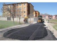 Bitlis Belediyesinden yol asfaltlama çalışması