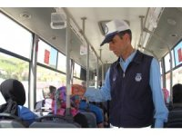 Bitlis'te halk otobüsleri denetlendi