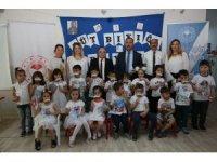 Dünya Süt Günü'nde çocuklara süt dağıtıldı