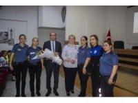 Kadın polisler meme kanseri konusunda bilgilendirildi