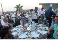 Sanibey barajı ve HES çalışanlarına iftar
