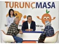 """Muratpaşa'da """"Turunç Masa"""" fark oluşturuyor"""