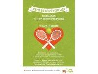 11. Forum Aydın Tenis Turnuvası başladı