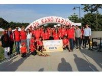 Düzce Üniversitesi beton kano takımı yeniden şampiyon