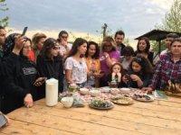 Tıbbi bitkiler kampında faydalı bilgiler ve güzel dostluklar paylaşıldı