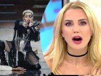 Ece Erken'den olay Madonna gafı! Sosyal medyanın diline düştü
