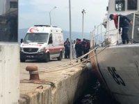 Denizde facia...Fırtına çıkınca yüzerek yardım istemeye gitti cesedi bulundu