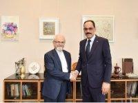 Sözcü Kalın, İran Dışişleri Bakan Yardımcısı ile görüştü