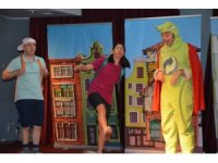 Söke'de çocuklara tiyatroyla çevre eğitimi