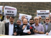 Diyarbakır'dan Davutoğlu'na tepki