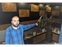Antika bisikletteki o ayrıntı görenleri şaşırtıyor