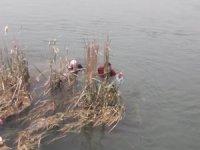 Fırat Nehri'ne atlayan kızı vatandaşlar kurtardı