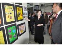 Elmakaya'da bilim ve sanat sergisi
