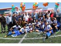 Engelleri aşıp Türkiye Şampiyonu oldular