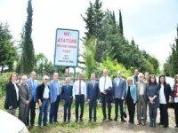 '100. Yıl Atatürk Botanik Parkı' açıldı
