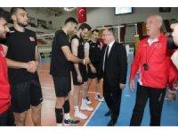 """Bilgin:"""" Milli takımımızı Sivas'ta ağırlamanın mutluluğunu yaşıyoruz"""""""