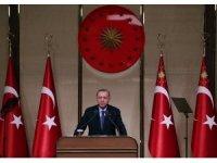 """Cumhurbaşkanı Erdoğan: """"29 bin 689 yeni sağlık çalışanını kamuda istihdam edeceğiz"""""""