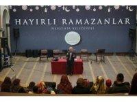 Ramazan etkinliklerinin konuğu Prof.Dr. Şimşirgil oldu