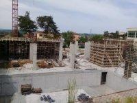 Kandıra Belediyesi'nin yeni hizmet binasında çalışmalar sürüyor