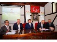 Tarım İl Müdürlüğü'nde 231 proje sahibiyle hibe sözleşme imzalandı