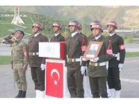 Şehit Piyade Onbaşı Mehmet Köklü için Hakkari'de tören düzenlendi