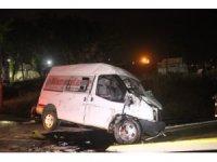 Başakşehir'de maçtan dönen gençler kaza yaptı: 12 yaralı