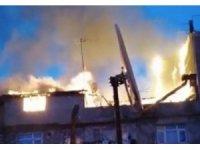 Vatandaşlar güne yangın paniği ile uyandı