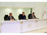 Bitlis'te il idare şube başkanları toplantısı düzenlendi