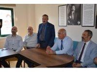 Söke Belediye Başkanı Levent Tuncel'den İYİ Parti'ye ziyaret