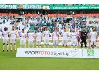 Spor Toto Süper Lig: Konyaspor: 0 - Akhisarspor: 0 (İlk yarı)