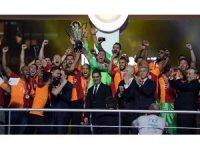 Galatasaray, 22. şampiyonluk kupasını aldı