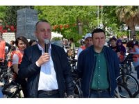 Sinop'ta TEMA'dan 'Kömür Etme!' bisiklet turu