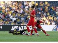 Spor Toto Süper Lig: Fenerbahçe: 1 - Antalyaspor: 1 (İlk yarı)