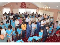 Hayırseverlerden Edremit 15 Temmuz Şehitler İmam Hatip Ortaokuluna örnek mescit