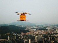 Drone ile kargo hizmeti