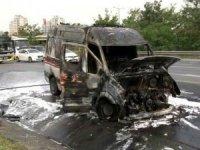 Ambulansta oksijen tüpü patladı: 3 yaşındaki çocuk hayatını kaybetti