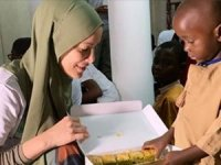 'Tanzanya'da kankamla baklava yiyorum'
