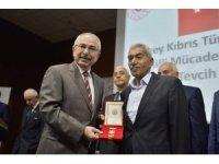 74 Kıbrıs gazisine milli mücadele madalyası ve beratları verildi