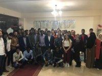 Rektör Alma, Afrikalı öğrencilerle iftarda buluştu