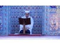 Ramazan ayının son Cuma namazında camiler doldu taştı
