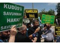 """Mardin'de """"Dünya Kudüs Günü""""nde İsrail'e tepki yürüyüşü"""