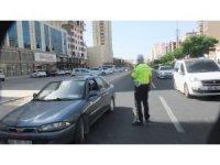 Vali Yaman bayram öncesi trafik denetimine katıldı