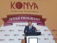 Ve Davutoğlu yeni partiyi Konya'dan duyurdu