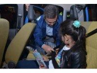 Çocuklara sürücü seyahat karneleri dağıtıldı