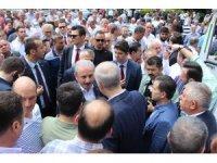 Meclis Başkanı Şentop Kırklareli'de cenaze törenine katıldı