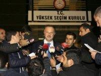 YSK'nın 'soruşturulan müdürlerle devam' kararına AKP'den itiraz